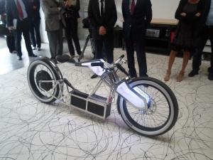Le premier prototype. Photo: MBe