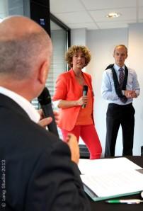 Caroline Decamps et Patrice Thiry sous le feu des questions