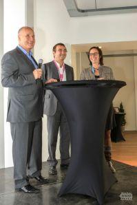 Alexandra Dupont et Christophe Preti témoignent de leur organisation respective au LOUVEXPO; le B to B et le Salon d'Automne