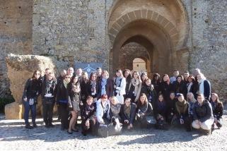 Les étudiants en tourisme à Séville (photo: HELHa)