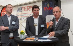 De gauche à droite: Jérôme Cantineau et Jean-Marc Vandenhende