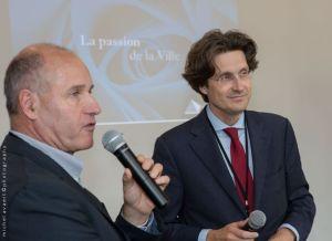 Geoffroy Dumonceau, directeur de projets groupe Wilhelm & Co face aux membres de Centre Capital