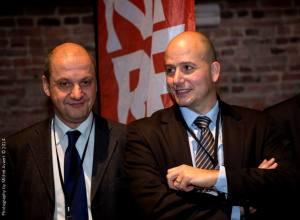 Stefano Gualtieri, à gauche, et Bruno Sita, à droite.